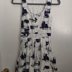 Jack Wills - White nautical dress - US 2